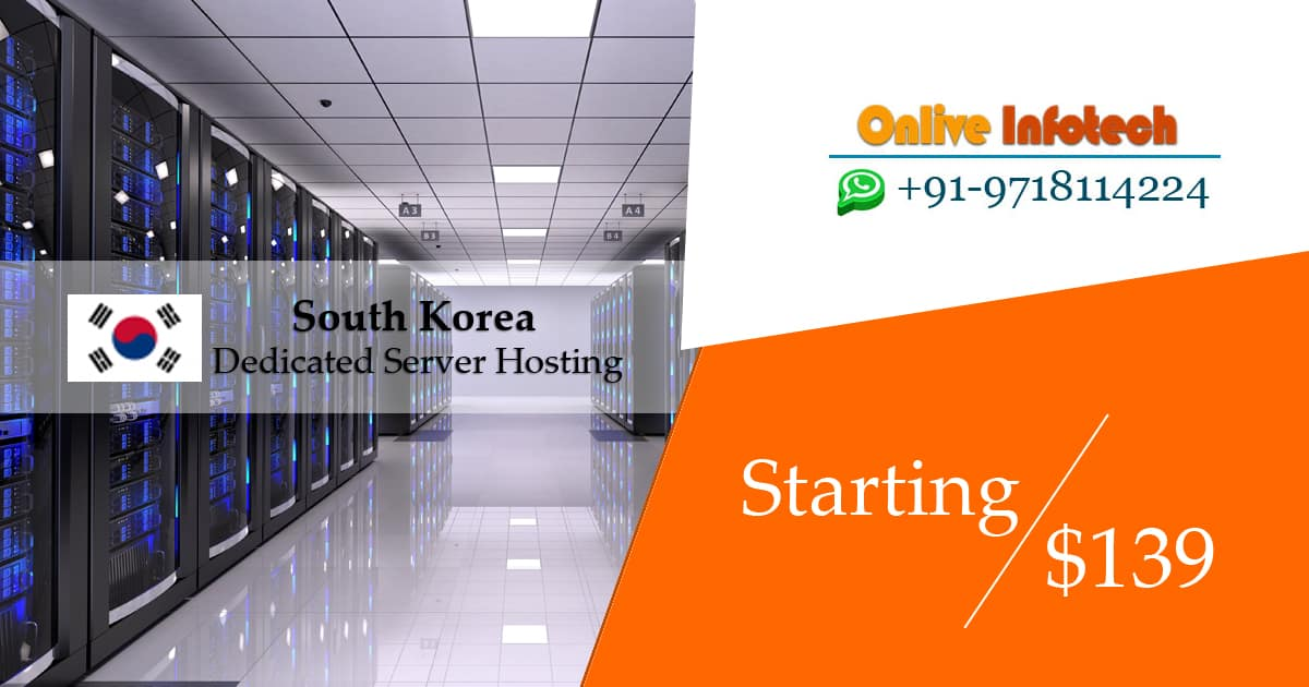 South-Korea Dedicated Server Hosting