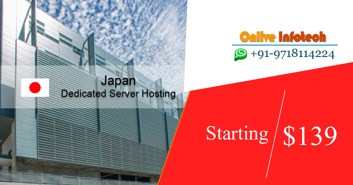 Japan Dedicated Server Hosting