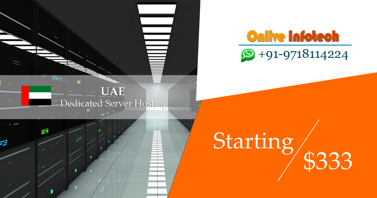 UAE Dedicated Server Hosting