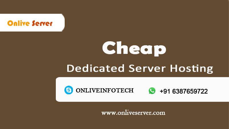 Cheap Dedicated Server Hosting